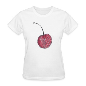 A Cherry Tee for Charity (Checkerboard Cherry) - Women's T-Shirt