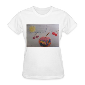 A Cherry Tee for Charity (Colorful Cherry) - Women's T-Shirt