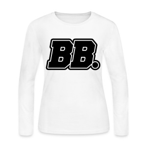 [BLOCK] BB. - Women's Long Sleeve Jersey T-Shirt