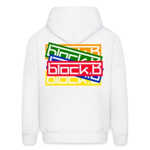 [BLOCK] BB. (Front & Back) - Men's Hoodie