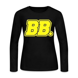 [BLOCK] BB. (Front & Back) - Women's Long Sleeve Jersey T-Shirt
