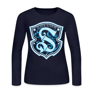 [SJ] Super Show 3 Emblem - Women's Long Sleeve Jersey T-Shirt