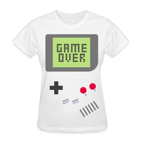[MISC] Gameboy Game Over - Women's T-Shirt