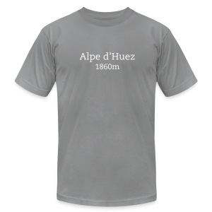Alpe d'Huez - Men's T-Shirt by American Apparel