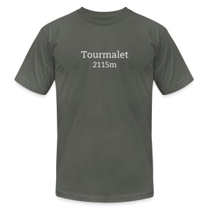 Tourmalet - Men's T-Shirt by American Apparel
