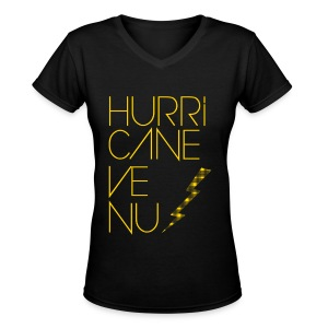 BoA - Hurricane Venus - Women's V-Neck T-Shirt