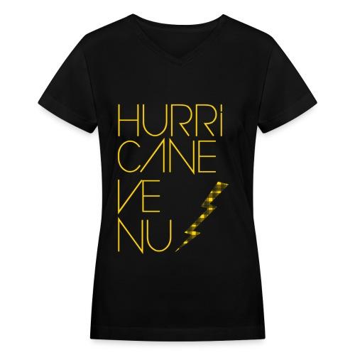 BoA - Hurricane Venus - Women's V-Neck T-Shirt