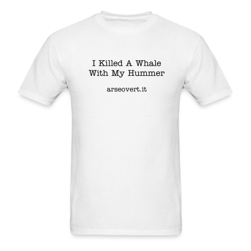 I Killed A Whale With My Holden - Men's T-Shirt