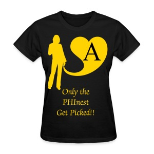 Alpha Sweet:  PHInest Picked - Women's T-Shirt