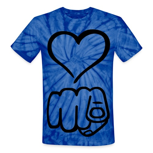 Love You - Unisex Tie Dye T-Shirt