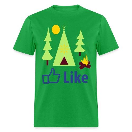 Like Camping - Men's T-Shirt