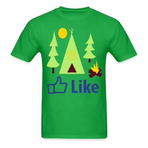 Like Camping - Men's T-Shirt