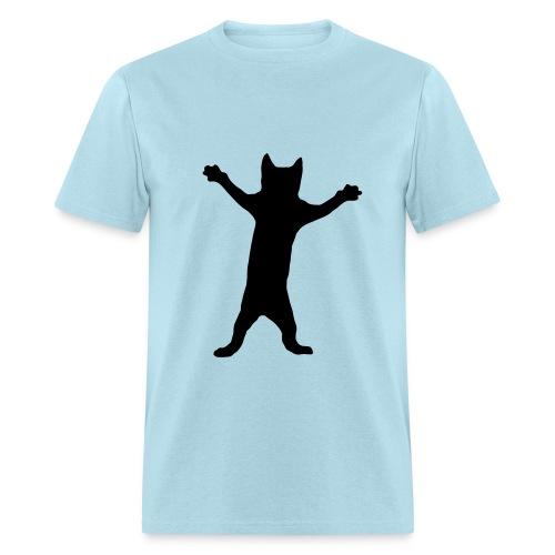 Dancing Cat - Men's T-Shirt