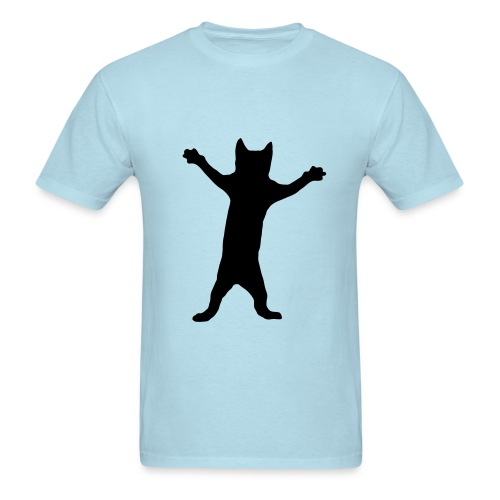 Dancing Cat - Men's T-Shirt