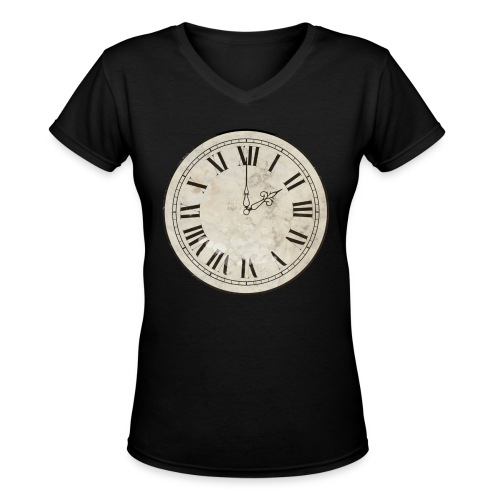 2AM/2PM - What Time Is It Now? - Women's V-Neck T-Shirt
