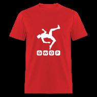 T-Shirts ~ Men's T-Shirt ~ Budget Men's QWOP Logo T-shirt