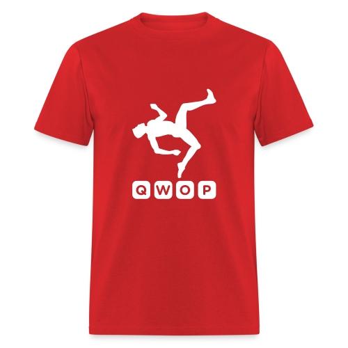 Budget Men's QWOP Logo T-shirt - Men's T-Shirt