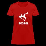 T-Shirts ~ Women's T-Shirt ~ Budget Women's QWOP Logo T-shirt
