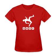Women's T-Shirts ~ Women's T-Shirt ~ Budget Women's QWOP Logo T-shirt