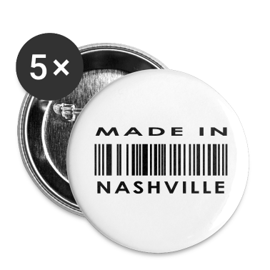 Made in Nashville  Buttons
