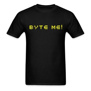 Byte Me - Men's T-Shirt