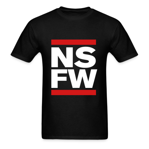 NSFW T-shirt - Men's T-Shirt