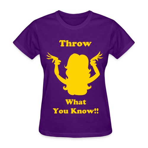 Omega: Throw What You Know!! - Women's T-Shirt