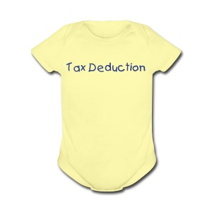 Tax Deduction - Short Sleeve Baby Bodysuit