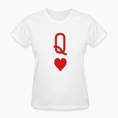 Queen of hearts Women's T-Shirts