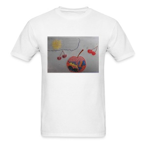 A Cherry Tee for Charity (Colorful Cherry) - Men's T-Shirt