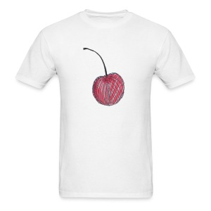 A Cherry Tee for Charity (Checkerboard Cherry) - Men's T-Shirt