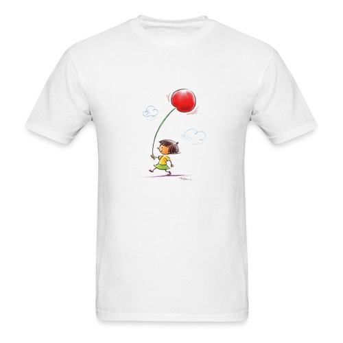 A Cherry Tee for Charity (Balloon Cherry) - Men's T-Shirt