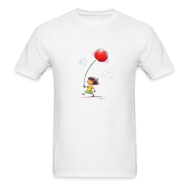 A Cherry Tee for Charity (Balloon Cherry)
