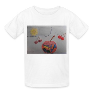 A Cherry Tee for Charity (Colorful Cherry) - Kids' T-Shirt