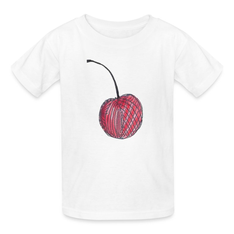 A Cherry Tee for Charity (Checkerboard Cherry) - Kids' T-Shirt