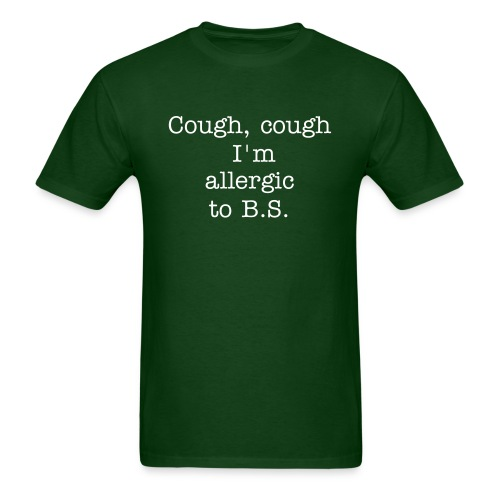 cough, cough shirt - Men's T-Shirt