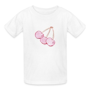 A Cherry Tee for Charity (Triplets Cherry) - Kids' T-Shirt