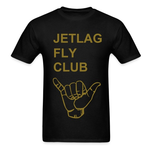 JETLAG FLY CLUB - Men's T-Shirt