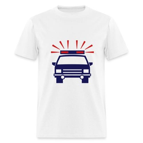 Police Car - Men's T-Shirt