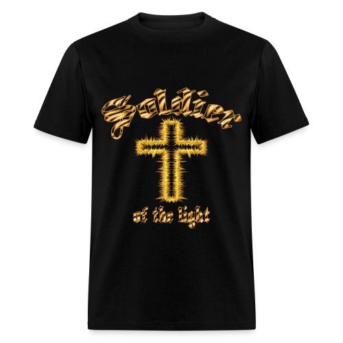 soldier of the light t-shirt - Men's T-Shirt