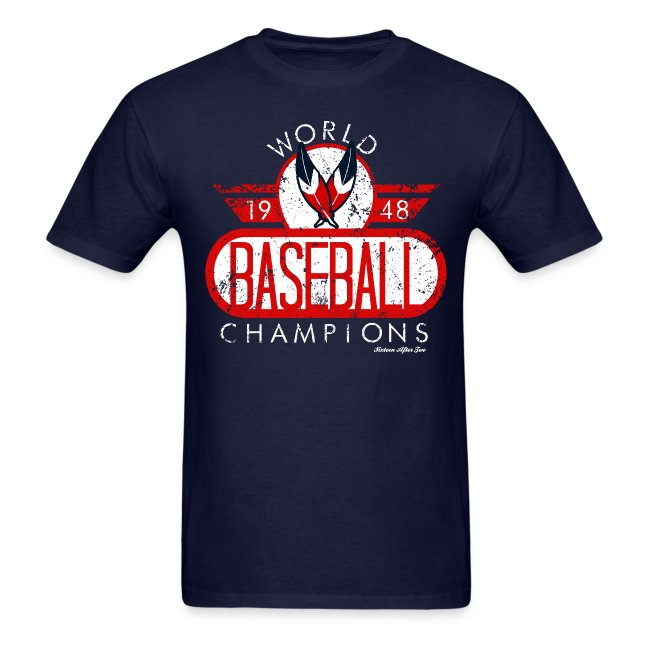 Cleveland Indians World Champs Tee