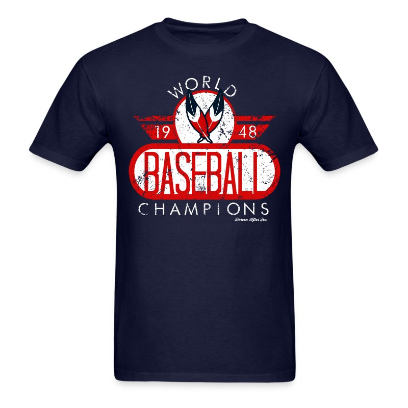 Cleveland Indians World Champs Tee - Men's T-Shirt