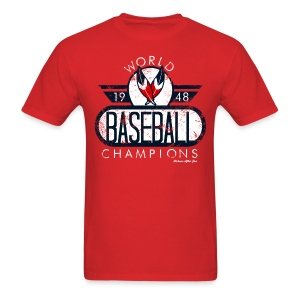 Cleveland Indians World Champs Tee 2 - Men's T-Shirt