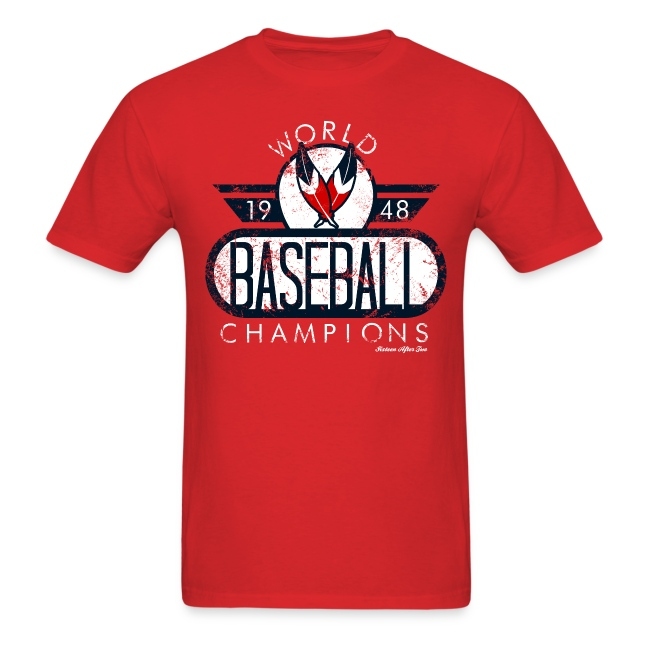 Cleveland Indians World Champs Tee 2