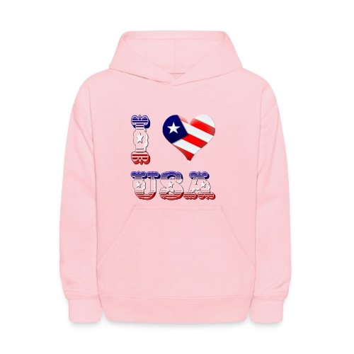 I Love USA - Kids' Hoodie
