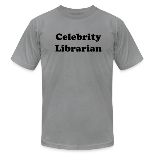 Celebrity Librarian - Men's Fine Jersey T-Shirt