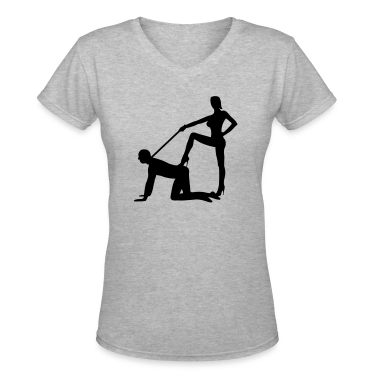 scenes from a marriage dominatrix domina whip lash high heel bachelor party bachelorette wedding leash Women's T-Shirts