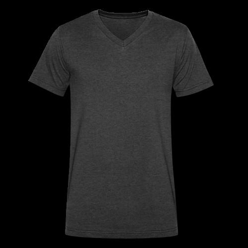 Plain No Design Choose Your Color of Tee - Men's V-Neck T-Shirt by Canvas