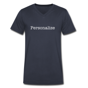 Personalize - Men's V-Neck T-Shirt by Canvas