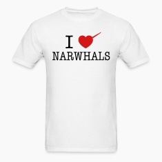 I Heart Narwhals T-Shirts